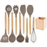 キッチンシリコーンスパチュラ調理器具セットキッチンガジェットツール用ノンスティック