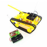 DIY RC Robot Tank STEAM Kit de juguete de robot ensamblado