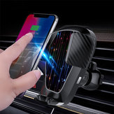Wireless Car Phone Charger Air Vent Holder Mount For iPhone xsmax 8 S9