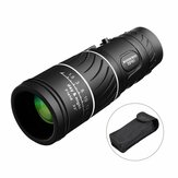 16x52 Day Night Vision Dual Focus Full Optics Zoom Monocular Telescope With Mobile Phone Clip + Tripod