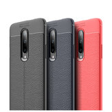 Bakeey Shockproof Soft Litchi Texture Silicone Protective Case For OnePlus 7 PRO