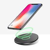 Bakeey 10W QI Wireless Charger Pad Быстрая зарядка для Samsung для iPhone Huawei