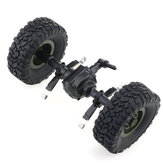 JJRC Rear Bridge Axle With Wheel For Q61 1/16 2.4G Off-Road Military Trunk Crawler RC Car