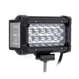 6 Inch 54W LED Work Light Bar Side Shooter Flood Beam do Jeep Offroad ATV SUV Motorcycle