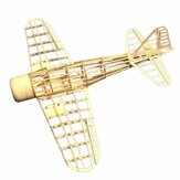 Mini Zero Fighter 400mm Wingspan Balsa Wood Laser Cut RC Airplane KIT
