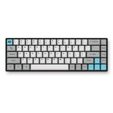 AKKO 3068 - Still 68 Tasten Mechanische Gaming-Tastatur Bluetooth Wired Dual-Modus-PBT-Tastaturkappe Cherry MX Switch Gaming-Tastatur