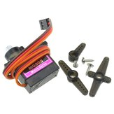 Lofty Ambition MG90S Metal Gear 9g Servo para Robot Airplane RC Helicóptero Coche barco Modelo