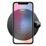 Baseus LCD Digital Display 10W 7.5W Qi Wireless Charger Charging Pad For iPhone XS MAX XR S9 Note 9