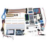 Ultimate UNO R3 LCD1602 Starter Kit Tuş Takımı ile Servo Motor Gaz Rölesi RTC Modülü Geekcreit Arduino için - resmi Arduino panoları ile çalışan ürünler