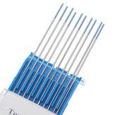 10pcs WL20 1.0mm Pointe 150mm Longueur électrodes de tungstène pour soudage TIG