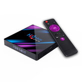 H96 MAX RK3318 4 GB RAM 32GB ROM 5G WIFI bluetooth 4.0 Android 10.0 4K VP9 H.265 TV Scatola Supporto Youtube 4K