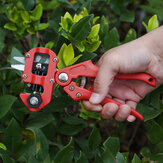 2-in-1 Grafting Pruning Shears Garden Hand Pruner Secateurs Cutter Plants Tool