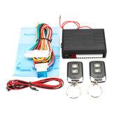 Voiture télécommande universelle kit serrure de porte centrale de verrouillage système de télédéverrouillage