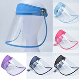 Casque intégral Casque Bouclier de sécurité de protection Transparent Flip Up Visor Oil Fume Guard