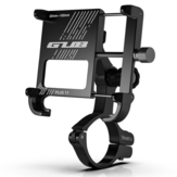GUB PLUS 11 3.5-6.8 Inch Smartphone Mobile Phone Holder 360° Rotation Adjustable Aluminum For Motorcycle Bicycle