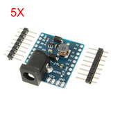 5Pcs WeMos® DC Power Shield V1.0.0 para WeMos D1 Mini