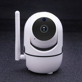 CES NEWS '1080P Wireless WIFI IR Cut Keamanan IP Kamera Night Vision Cerdas HD Kamera Pengintai