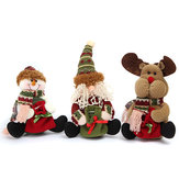 Weihnachtsdekoration Sankt-Schneemann-Elch-Muster-Pedant-Verzierungs-Geschenk