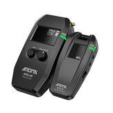 AROMA ARG-06 système de Transmission Audio de guitare sans fil émetteur récepteur intégré Batterie pour basse de guitare électrique