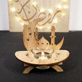 Islamico Ramadan Light Square Delicato LED Decorato con pendente a parete