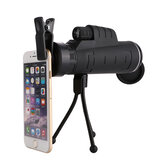 35X50 Phone Telescope Light Compact Outdoor Telescope with Tripods for Phone