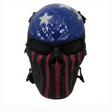 Tactical Warrior Military War Game Paintball CS Field Equipment Airsoft Full Face Mask