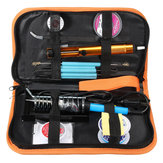 60W Adjustable Temperature Welding Solder Soldering Iron Tool Kit 110V/220V