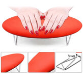 Nail Arm Rest Leather Nail Art Hand Pillow Waterproof Hand Arm Rest Holder Cushion Pad Table Manicure PedicureTool For Nail Lamp