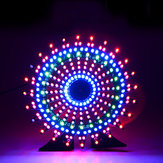 Geekcreit® Ferris Wheel Model Müzik Spektrumu DIY Kit Elektronik 51 Tek çip Colorful LED Flash Kit