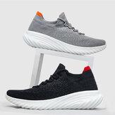 FREETIE Spor Ayakkabı 2 Spor Versiyonu Antibakteriyel Erkek Koşu Ayakkabıları Ultra Hafif Nefes Alabilir Elastik Kaymaz Günlük Spor Ayakkabıları Günlük Çorap Yürüyüş Ayakkabıları
