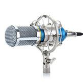 Metall Noise Cancelling HD Sound Stoßfest Live Broadcast Recording 3,5 mm Kondensatormikrofon