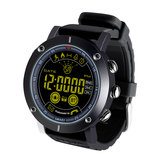 Bakeey EX19 ALL-DAY Aktivitetsoptegnelse Metal Body Luminous 5ATM Meddelelse 12 Måned Standby Smart Watch