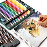 OBOS水溶性色鉛筆セット48/72/120/200カラープロフェッショナルカラーリードブラシ手描きの描画スケッチ色鉛筆