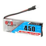 Gaoneng GNB 3.7V 450mAh 1S 80/160C Lipo Battery White Plug