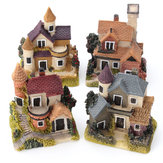 Dollhouse Miniature Kit Garden Dollhouse Micro Landscape DIY Mini Castle Model Toy Home Decoration Gift