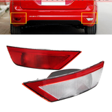 Left/Right Side Rear Tail Fog Light Bumper Reflector for Ford Focus 2008-2012