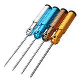 الدقة 1.5 / 2.0 / 2.5 / 3mm Hex Screwdriver Tool أداة صيانة التجميع نموذج أداة