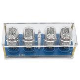 IN-12 Glow Tube Clock 4-bitowy IN12 Siedmiokolorowy RGB LED DS3231 Zegar Nixie z jarzeniówką