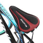 CoolChange Soft通気性のある自転車サドルクッションカバー耐震性シリコーンシートパッドロード自転車MTBバイク