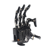 LOBOT uHand2.0 DIY RC Robot Arm Independent Fingers With LFD-01 Anti0-block Servos