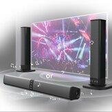 Home Audio en tv-luidspreker Soundbar Bluetooth-luidspreker Super bas stereoluidspreker voor telefoon PC Computer met RCA-kabel