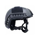 FAST MH sisak Airsoft taktikai sisak állítható sport kényelmes, lélegző sisak kerékpáros vadász fejvédő
