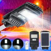30/60/90 W Solar Sokak Işık Hareket Sensör Bahçe Yard Duvar Lambası + Uzaktan