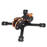 Eachine Tyro79 140mm 3 Inch DIY Versión FPV Racing Frame Kit 3mm Brazo Fibra de carbono