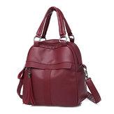 Women Soft Leather Backpack Bag Handbag Shoulder Bag