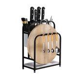 ステンレス鋼のキッチン収納ホルダー棚ラックまな板食器ホルダー