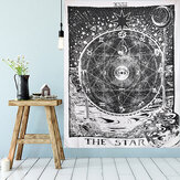 210cm Sun Star Moon Tarot Tapestry Hippie Wall Opknoping Deken Room Home Decor