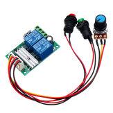 6 V 12 V 24 V PWM DC Controlador de Velocidade Do Motor Módulo Interruptor Elétrico Push Motor Controlador Botão