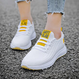 Women Running Breathable Fabric Non Slip Casual Sneakers