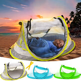 Automatic Portable Beach Tent Kids Canopy Sun Shade Shelter Foldable Anti-UV Baby Travel Bed